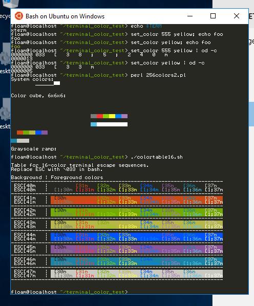 Fish On Bash Ubuntu Windows Assumes 256 Color Terminal