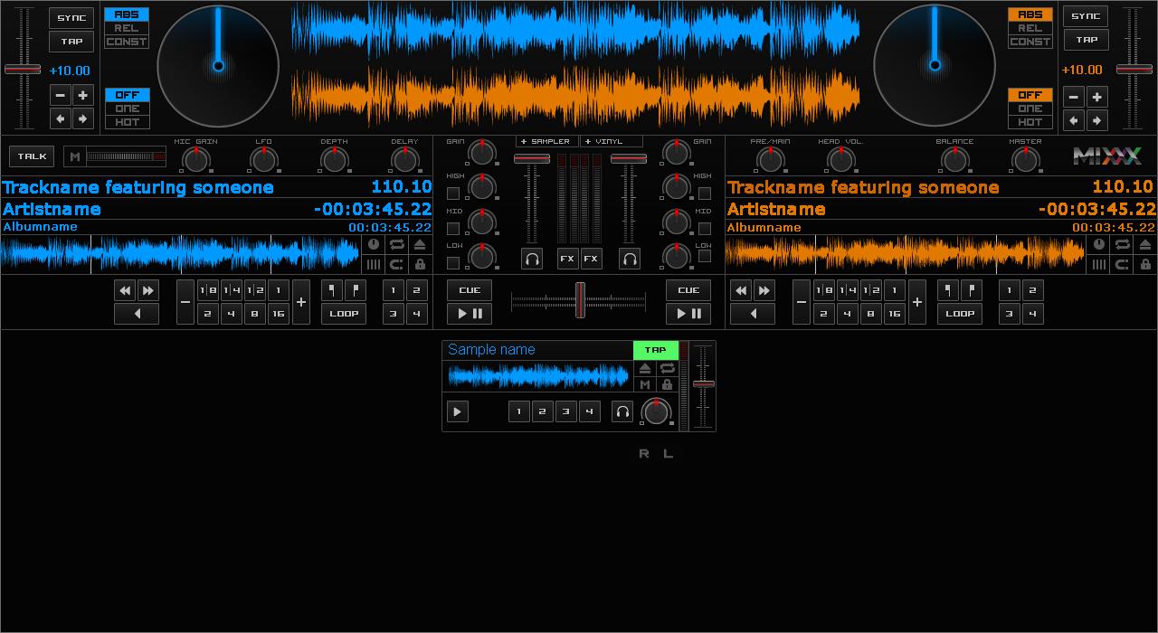 GitHub - esbrandt/mixxx-skins: Skins for Mixxx, the Free DJ