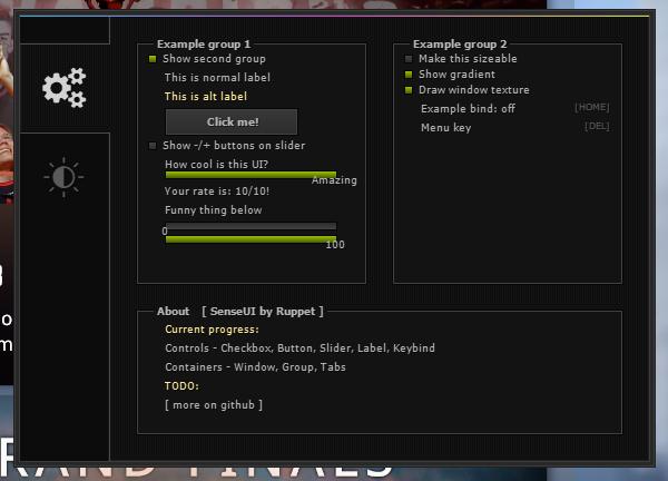 GitHub - 1337Ruppet/SenseUI: Immediate-Mode GUI for Aimware NET