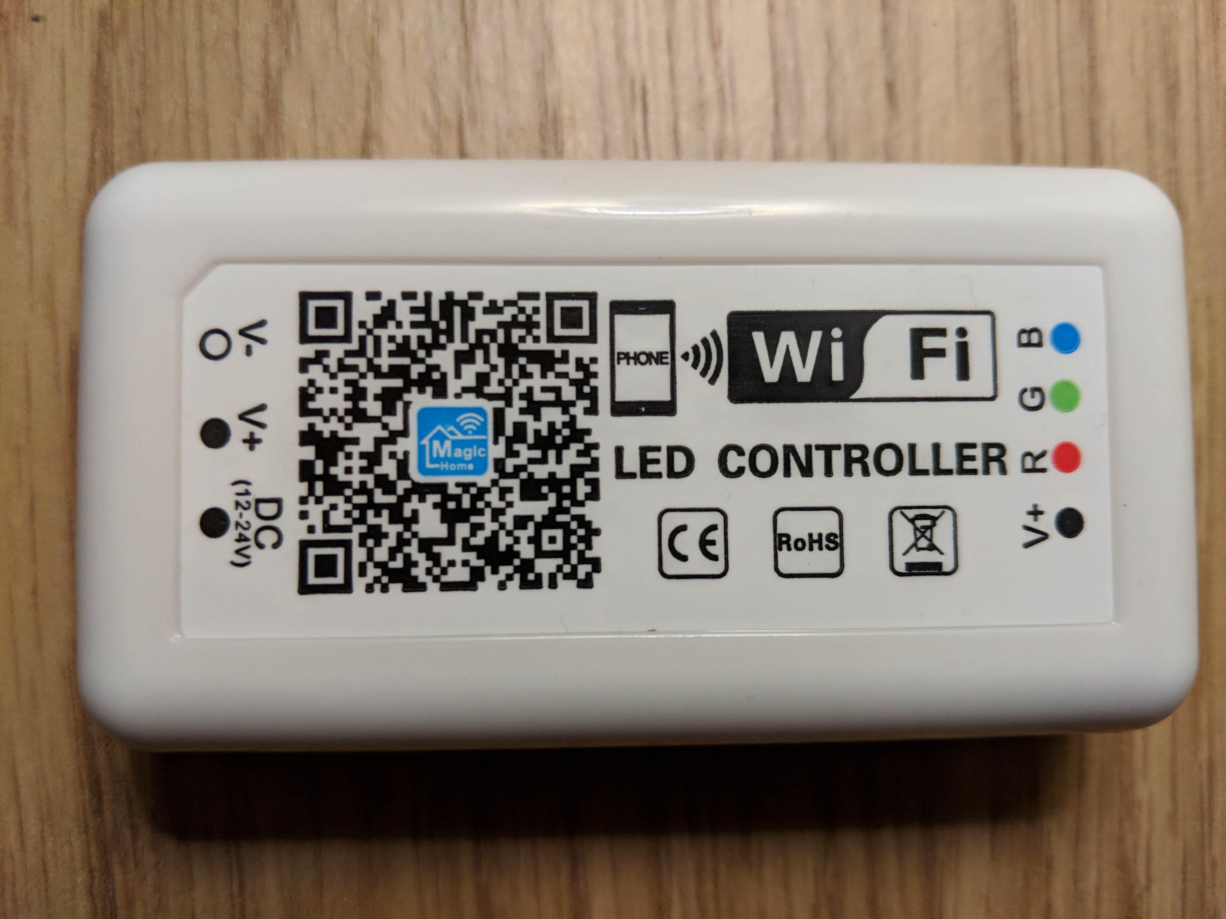 Remote 4 Channel Million Color Controller