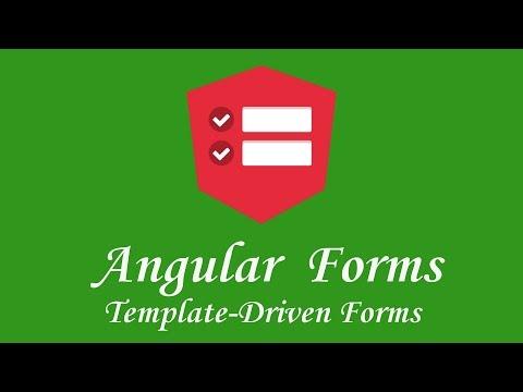 Thumbnail Angular Template Driven Forms tutorial