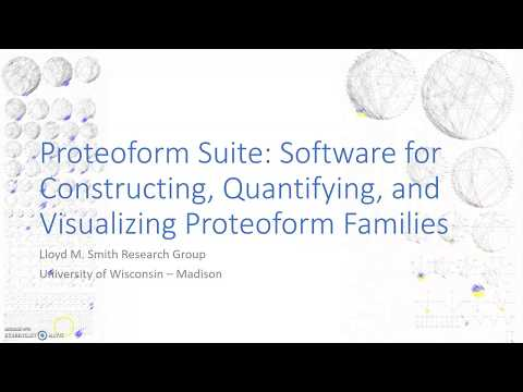 Proteoform Suite Tutorial