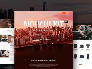 Now UI Kit Pro HTML