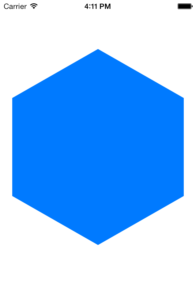 Github  Hexagon  A Simple Uiview Subclass That