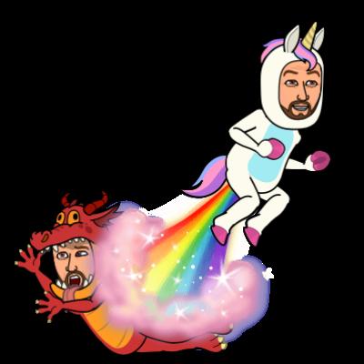 unicorn vs dragon