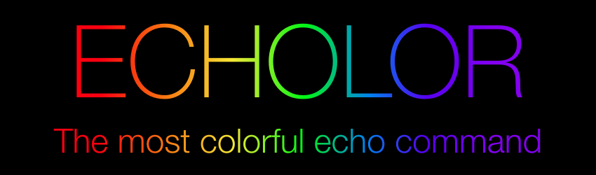 Echolor The Most Colorful Echo Command