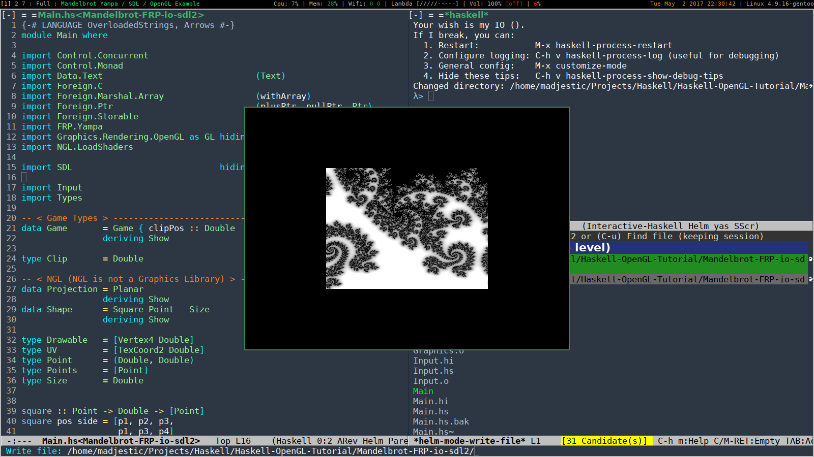 GitHub - madjestic/Haskell-OpenGL-Tutorial: an attempt to create a
