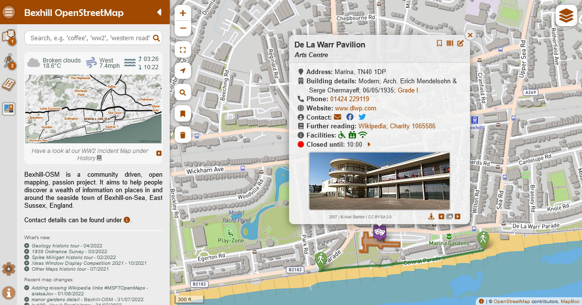 Image of Bexhill-OSM