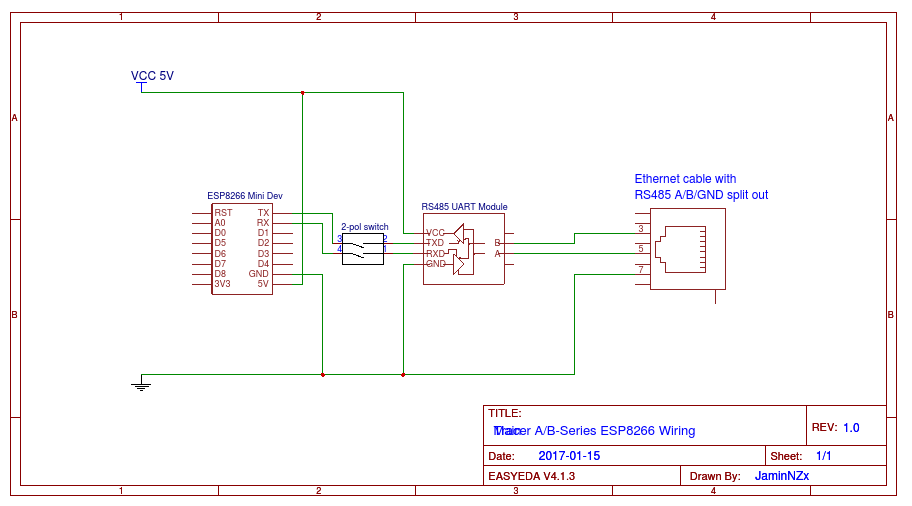 tracer rs485 modbus blynk readme md at master · jaminnzx tracer modbus plus connection diagram tracer wiring diagram