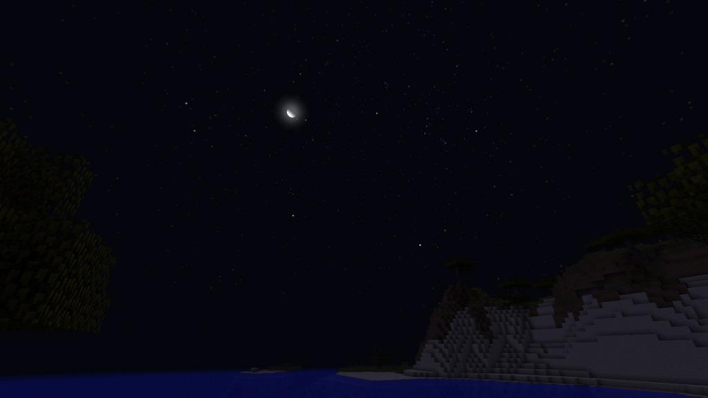 мод на звездное небо для майнкрафт 1.7.10 #3