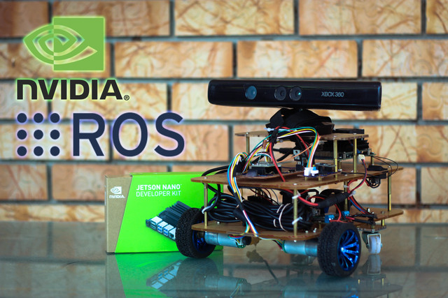 ROS Differential Drive build for Mapping and Navigation with