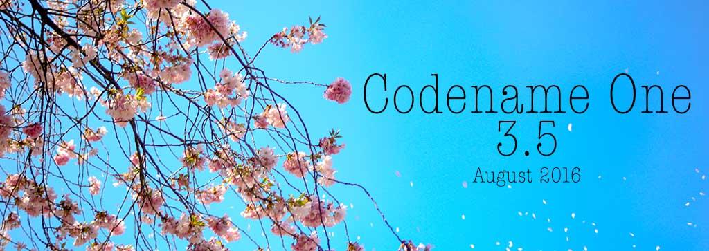 Codename One 3.5 Heading