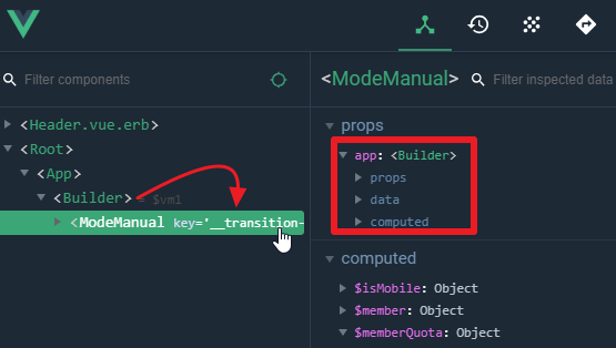 Vue warns when passing vue component into props · Issue #903