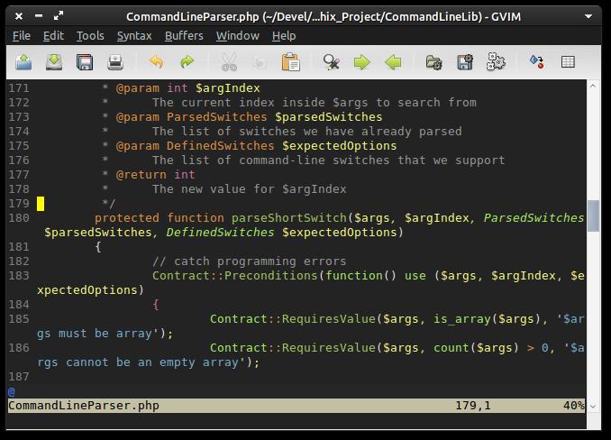 Phix Color Scheme inside GVim