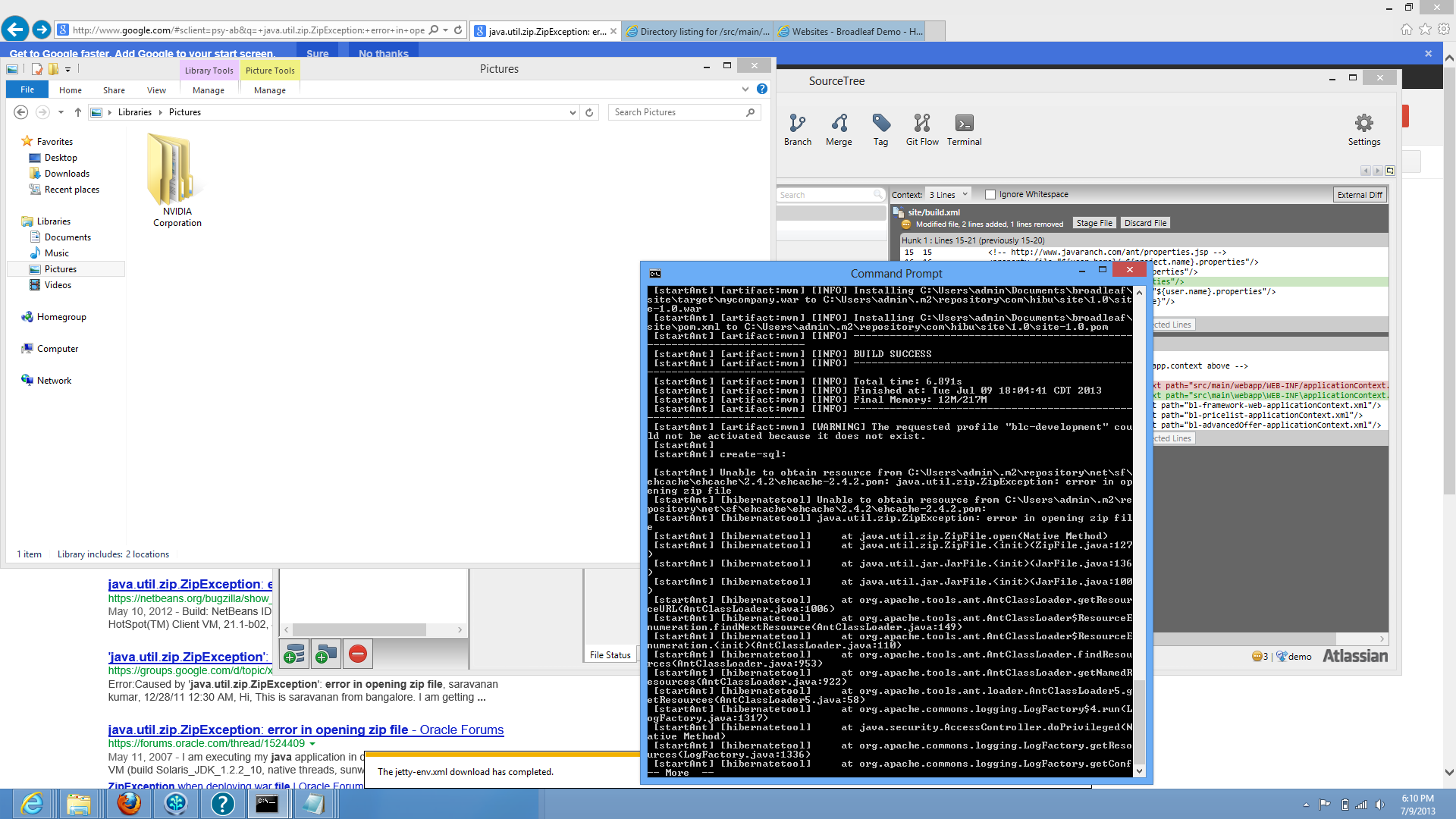 windows ant target build-create-sql causes infinite loop · Issue