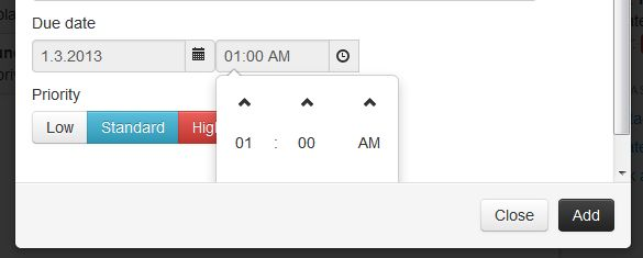 Bootstrap modal footer hides dropdown menu · Issue #104