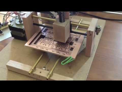 Direct ink to PCB CNC Plotter