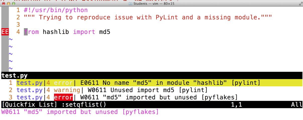 namespace packages + pylint: false E0611 no name