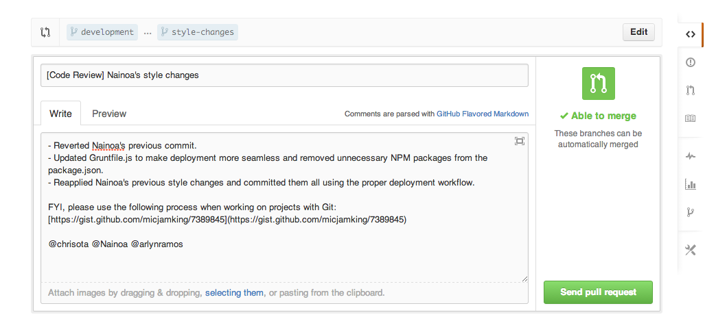 Github Inline Ments Are The Ideal Way For Collaborating On Code