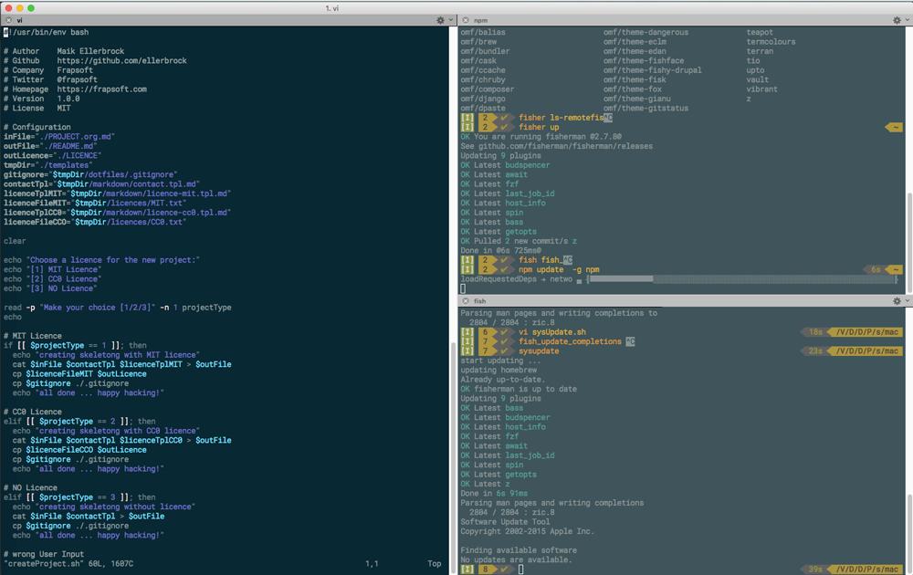 GitHub - ellerbrock/fish-shell-setup-osx: Tutorial: Fish