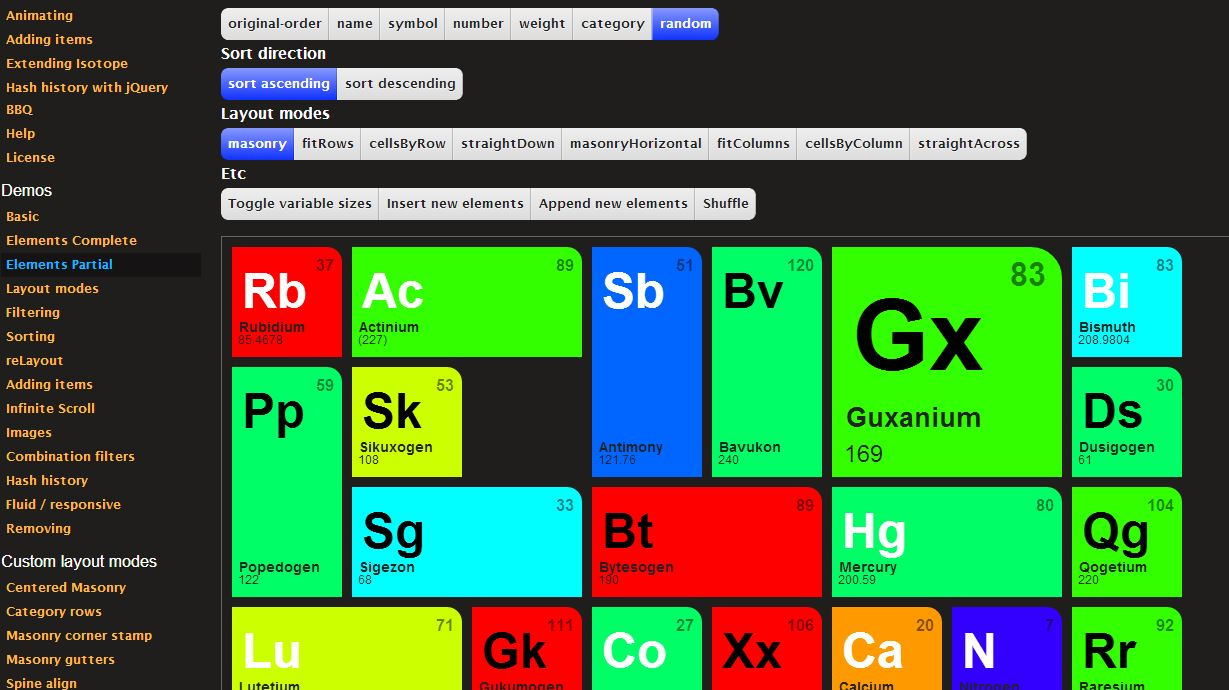 Why is there a hole in isotope website examples · Issue #349
