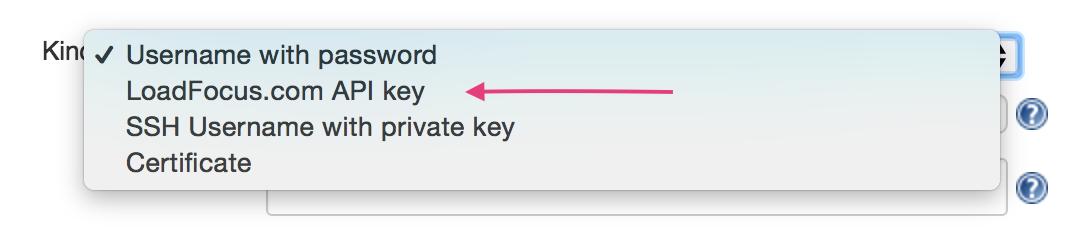 JMeter Load Testing Add Credentials API key