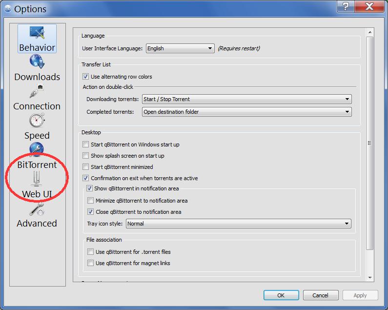 Setting up qBitTorrent 3 2 with DuckieTV · SchizoDuckie/DuckieTV