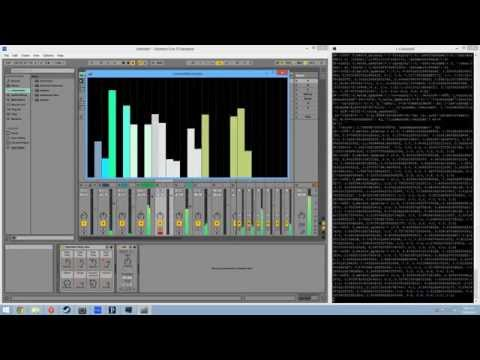 Example of Showtime-Processing talking to Ableton Live