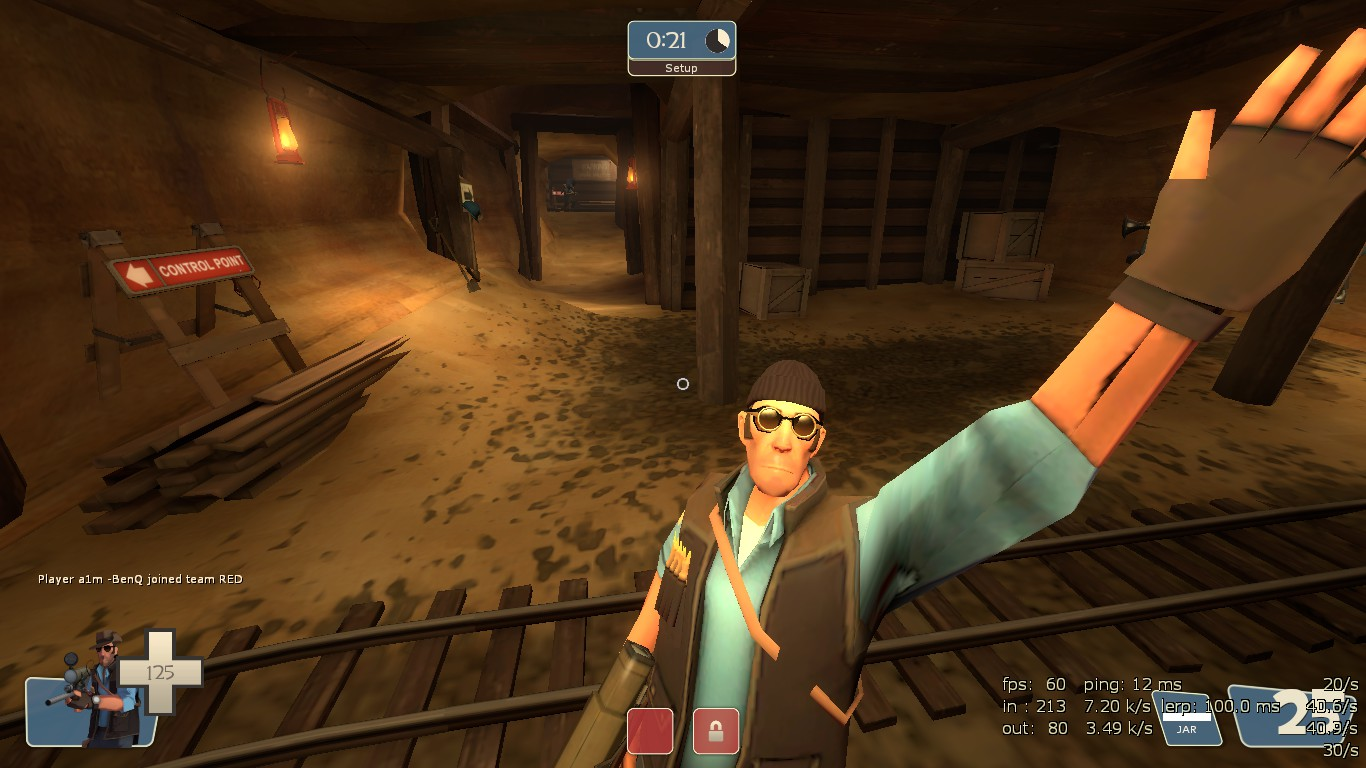 Missing facial animation in TF2 (when low-quality models are