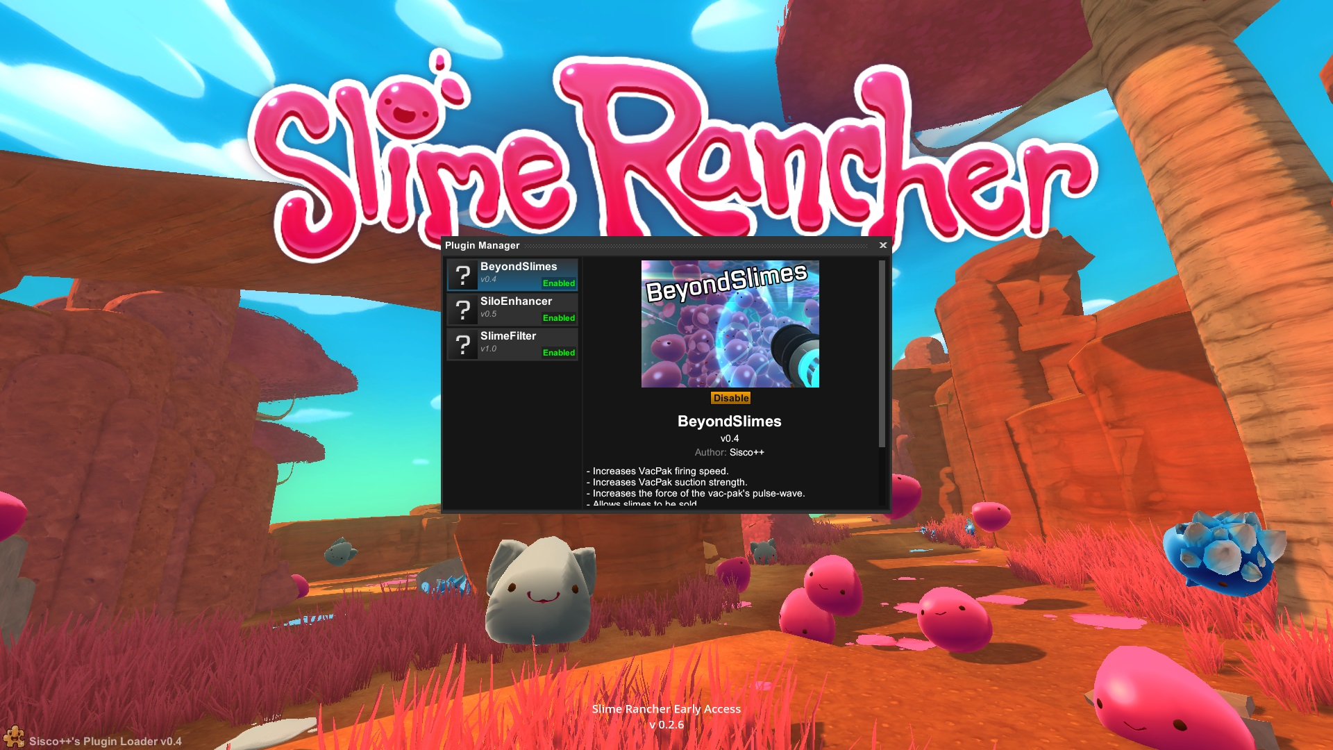 how to install slime rancher mods