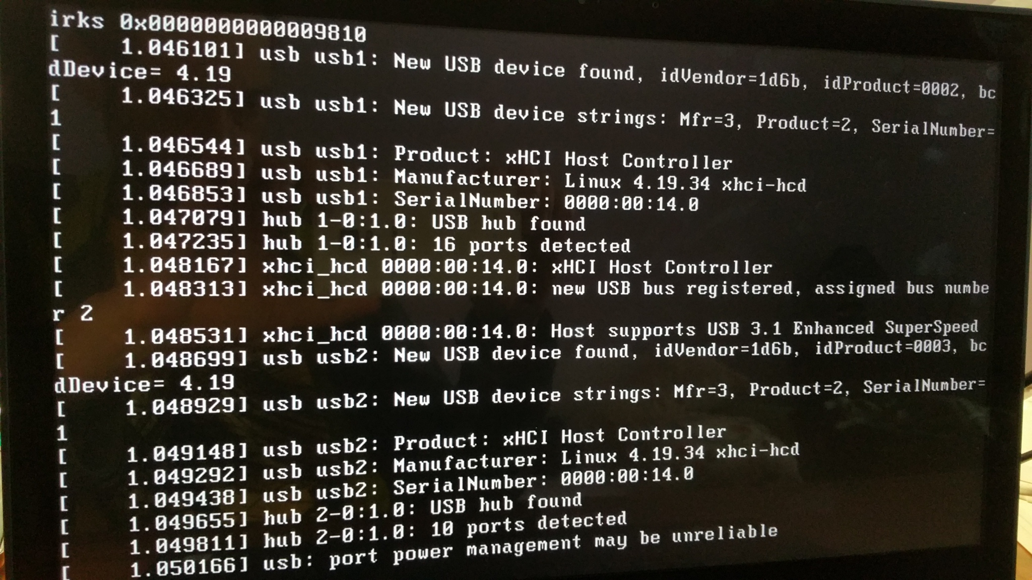 19 03 LiveCD does not boot on Thinkpad P52 · Issue #59395