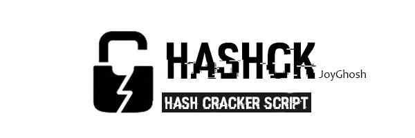 GitHub - JoyGhoshs/HashCk: Hash Cracking Script