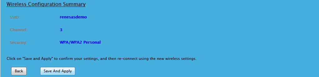 Provisioning Wireless Confirmation