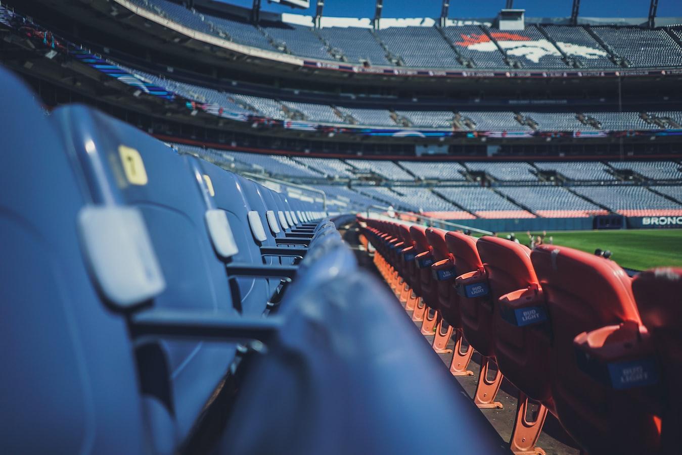 Empty NFL Stadium
