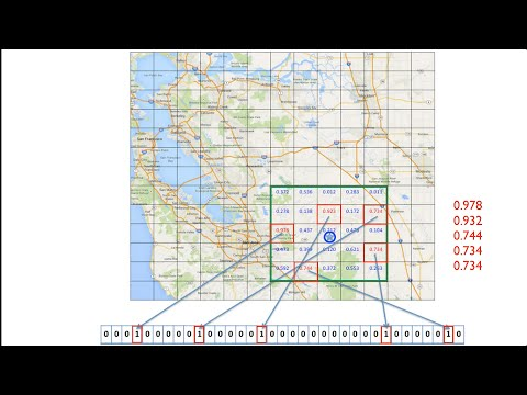 Geospatial Coordinate Encoder