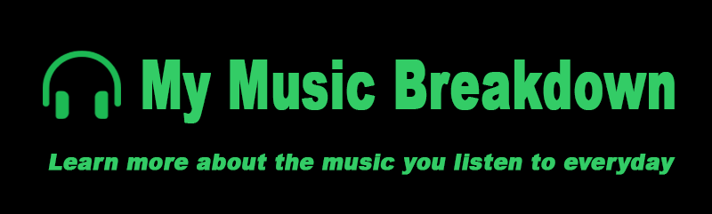 My Music Breakdown