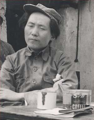 Mao Zedong in Yan%27an