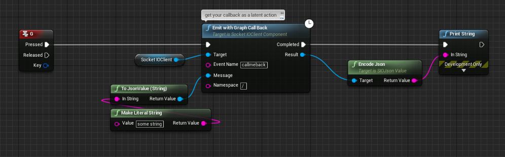graph callback