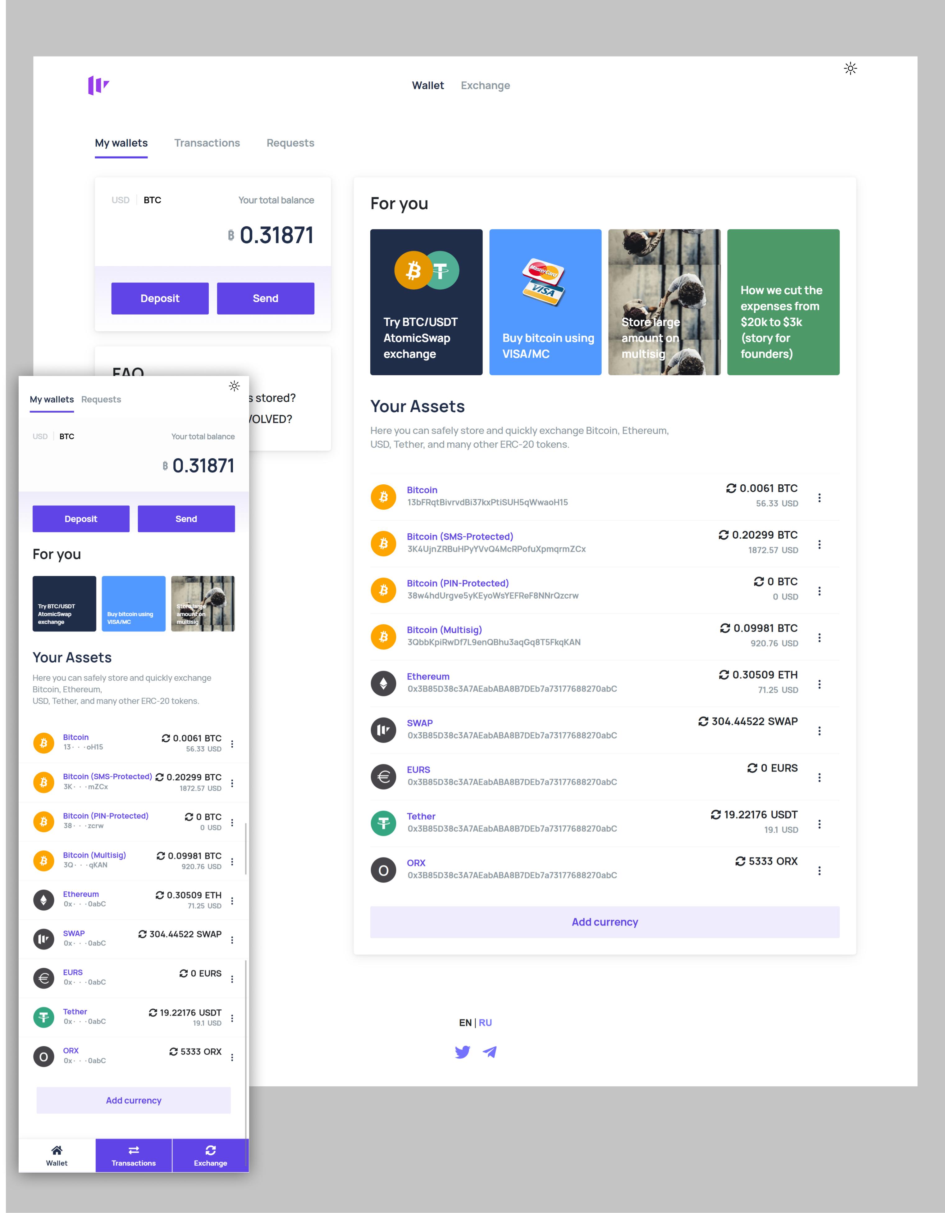 Contour Enterprise, Btrade bitcoin prekybos sistemos diegimas