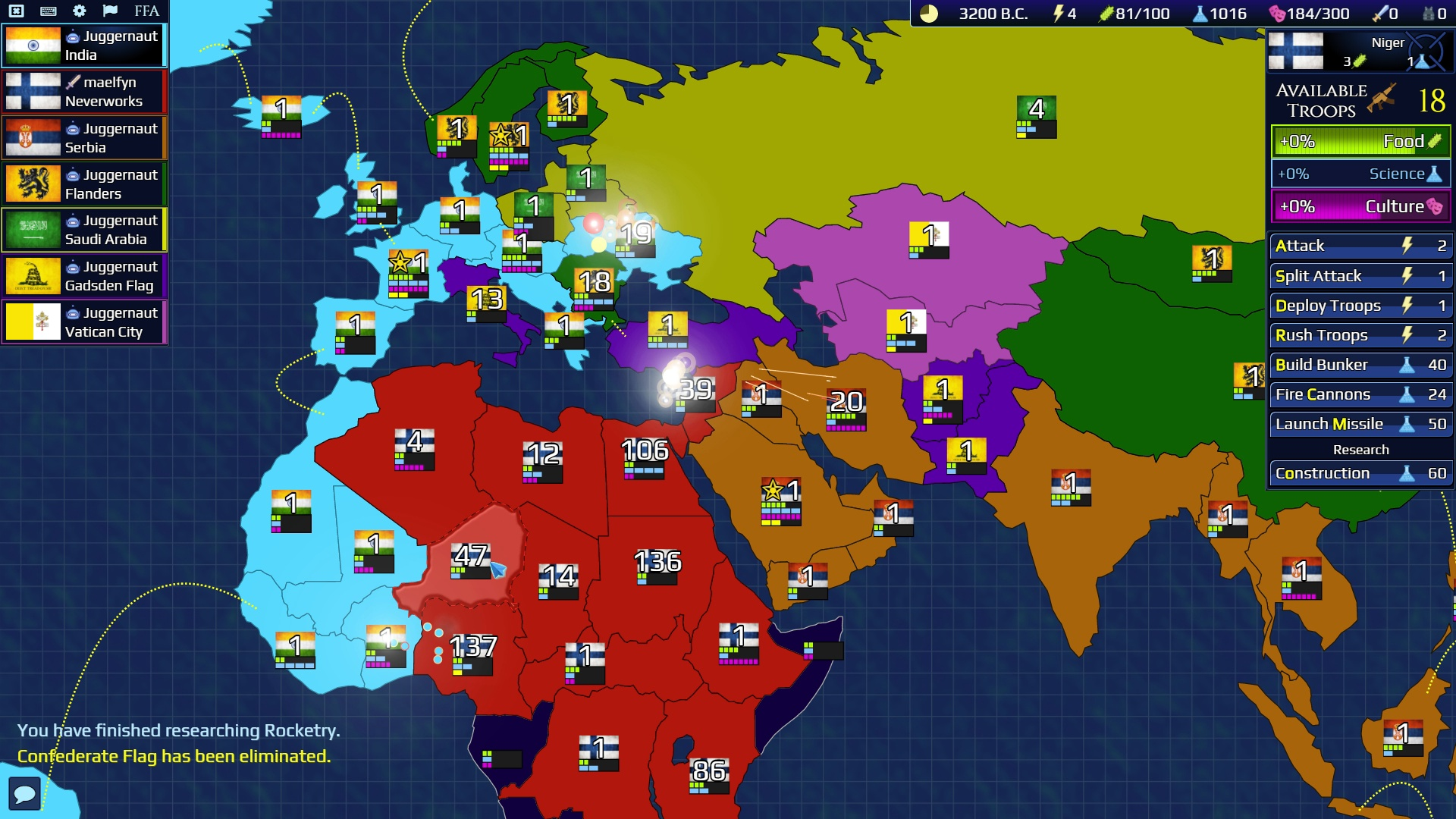 Firmament Wars Screenshot