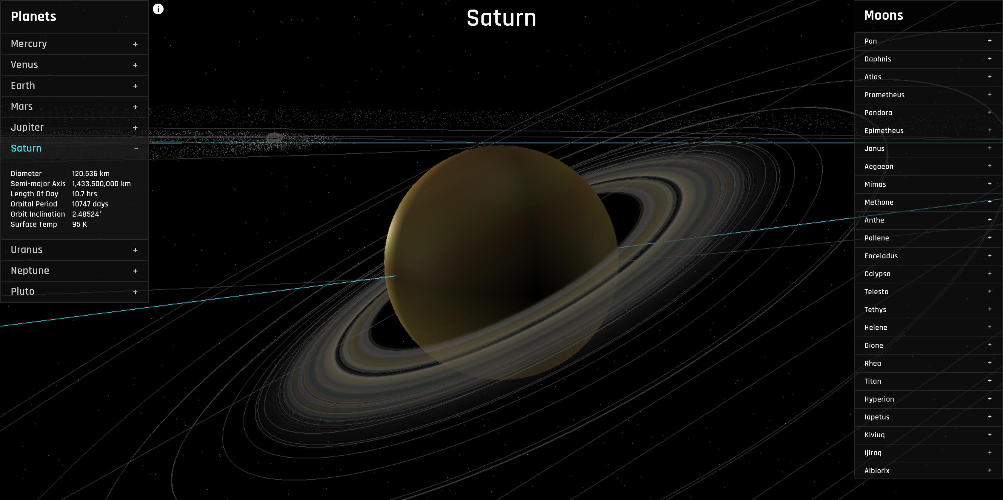 solar system js -#main