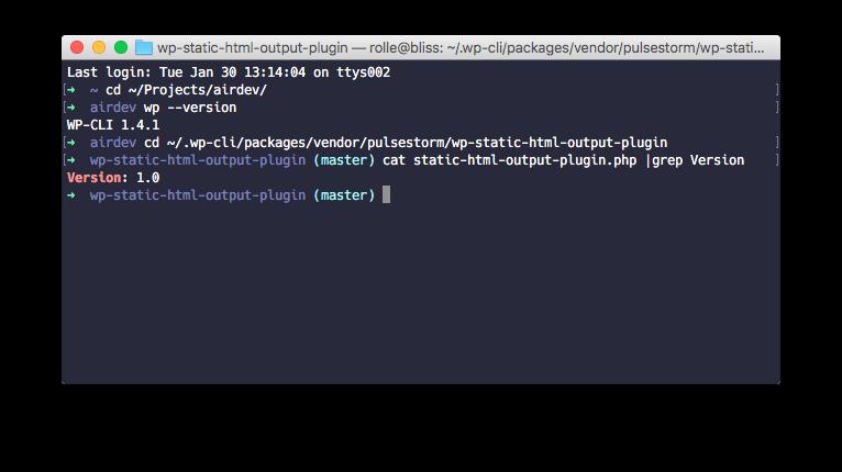 PHP Fatal error: Class 'StaticHtmlOutput' not found · Issue