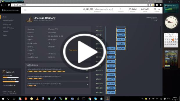 Ethereum Harmony Demo