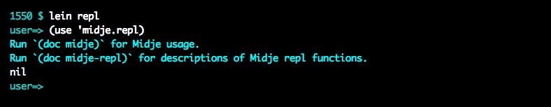Using the repl tools