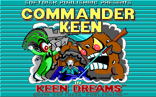 Commander Keen in Keen Dreams