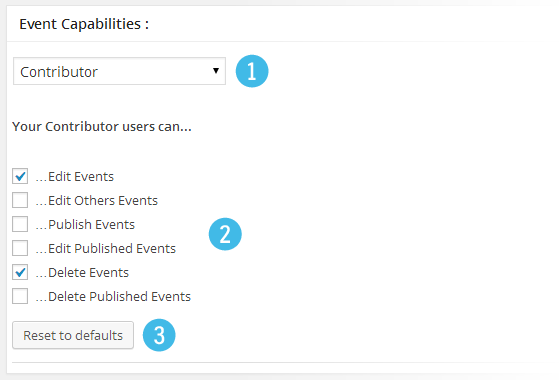 Events Capabilities