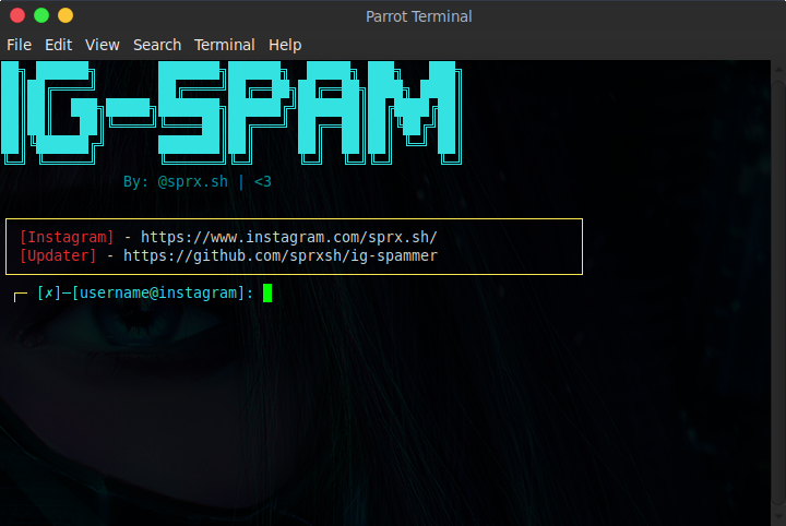 GitHub - sprxsh/ig-spammer: Spam Comment Section of a Post  More