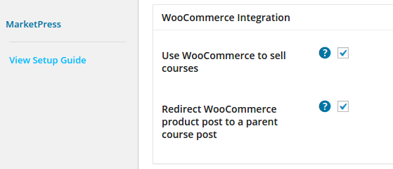 CoursePress Pro - Settings - WooCommerce Integration