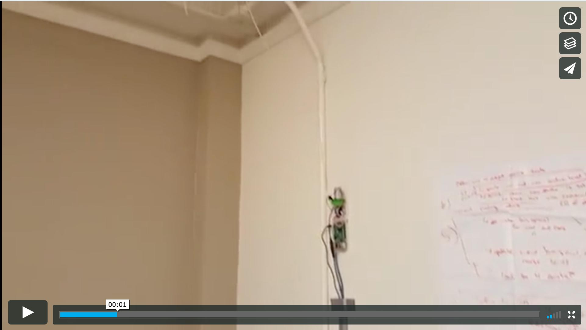 Water Alarm Video