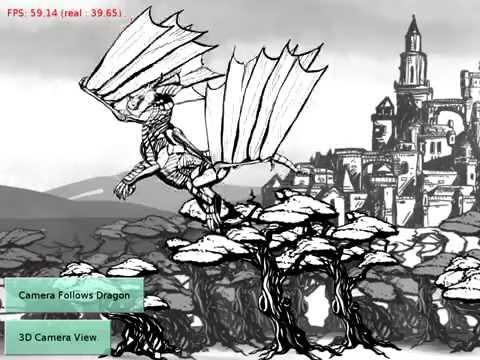 Dragon Spine - Castle Game Engine demo
